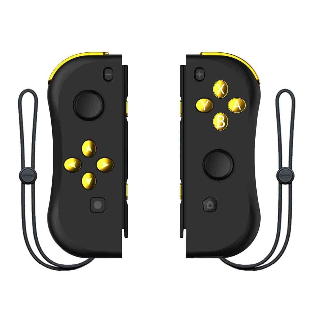 Wireless Joysticks for Nintendo Switch (L and R) Gold - 1