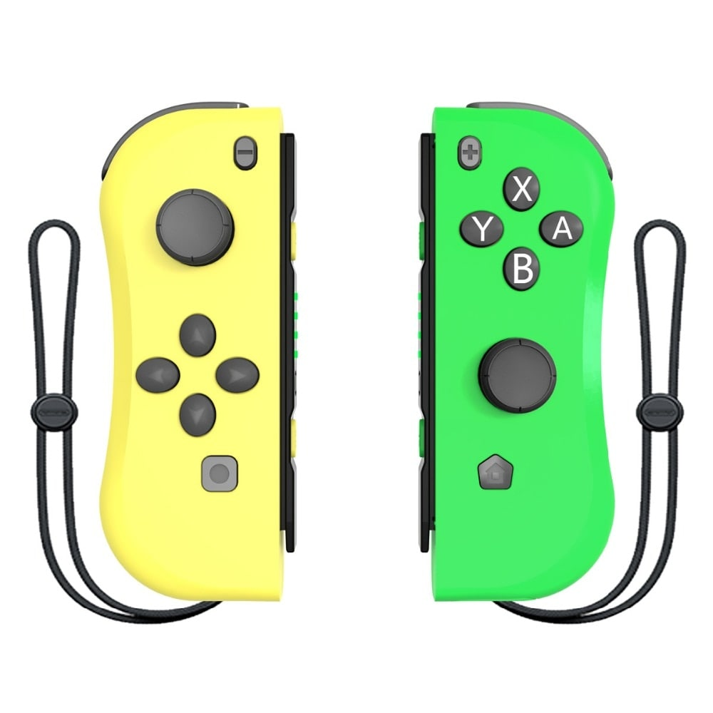 Wireless Joysticks for Nintendo Switch (L and R) Yellow Green - 1