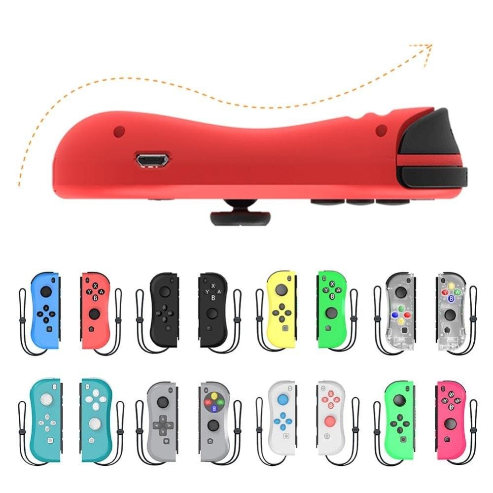 Wireless Joysticks for Nintendo Switch (L and R) Yellow - 5