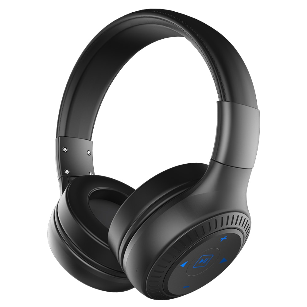 ZEALOT B20 Bluetooth Headset with HD Sound Bass Stereo Over Ear Wireless Headphone with Mic for Smartphones Black N/A - 4