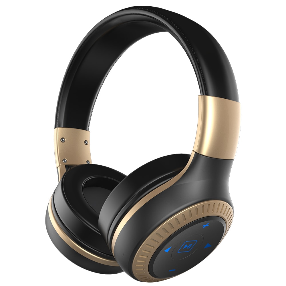 ZEALOT B20 Bluetooth Headset with HD Sound Bass Stereo Over Ear Wireless Headphone with Mic for Smartphones Black N/A - 3
