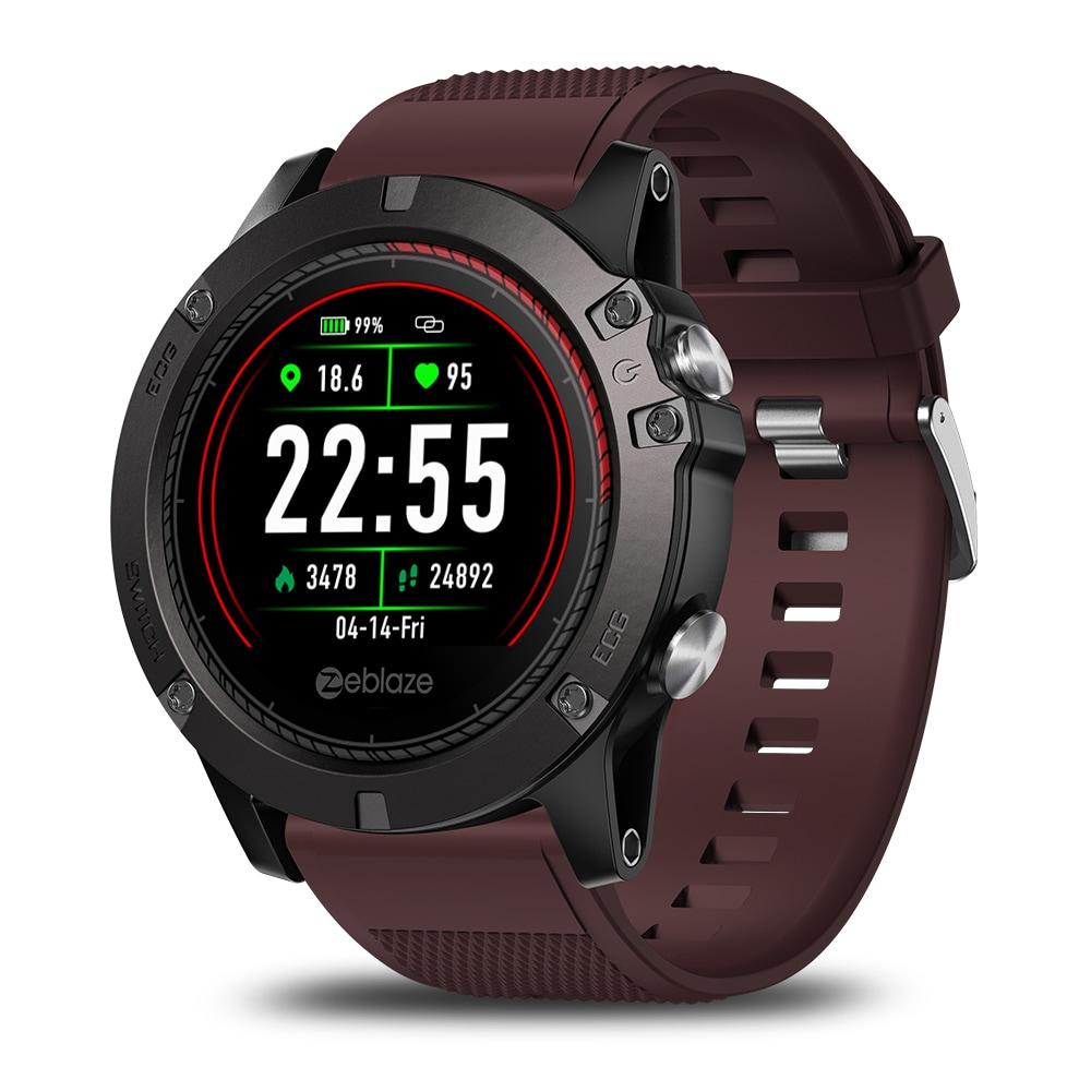 Zeblaze VIBE3 ECG Smart Watch Men Sport Waterproof Electrocardiogram Sleep Monitoring Fitness Tracker Blue CHINA - 3