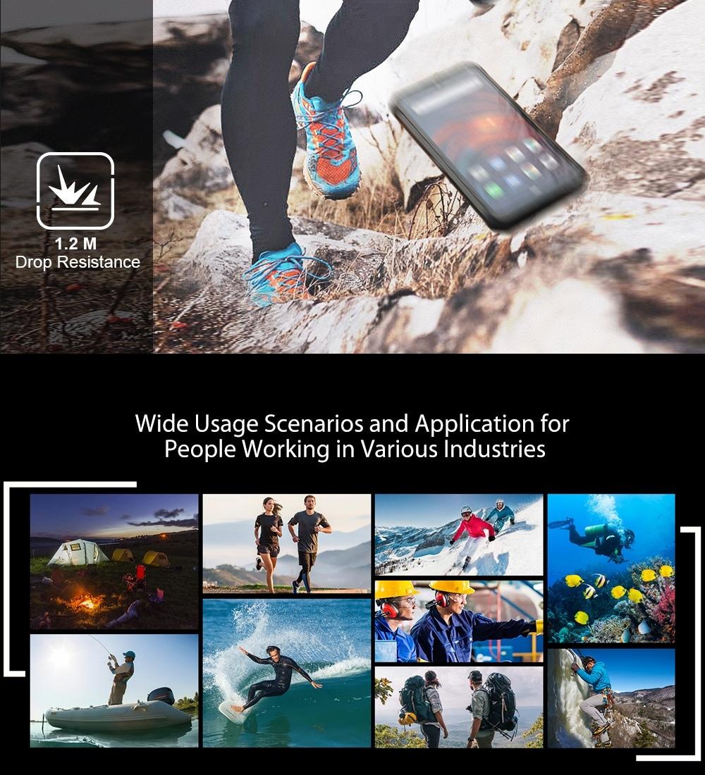 Ulefone Armor 7 Rugged Phone 48MP Camera 8GB+128GB (Black) - 5