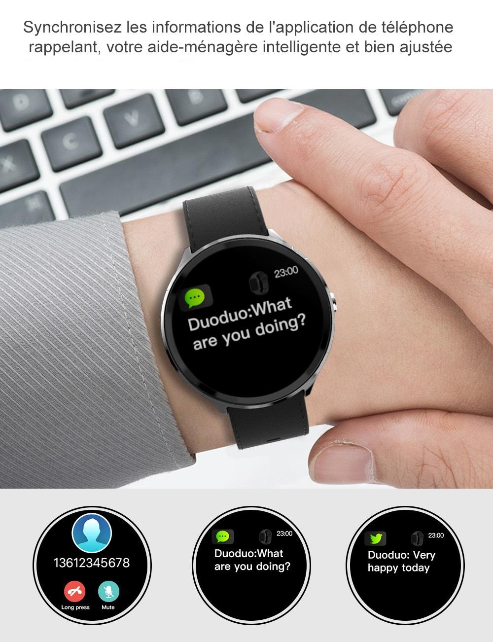 Mbtaua-Watch KOSPET V12 Waterproof Smart Watch - 10