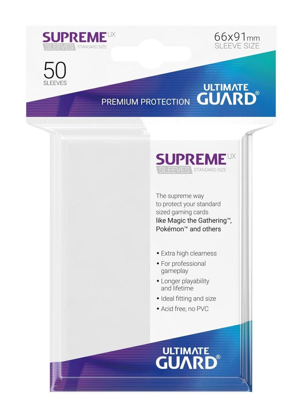 Ultimate Guard Koszulki Supreme UX Standard Białe (50) - 1