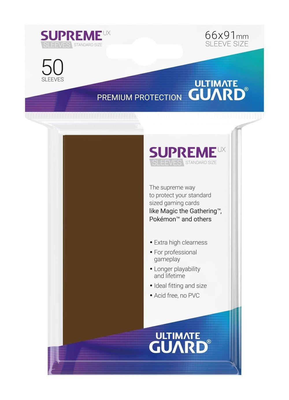 Ultimate Guard Koszulki Supreme UX Standard Brązowe (50) - 1