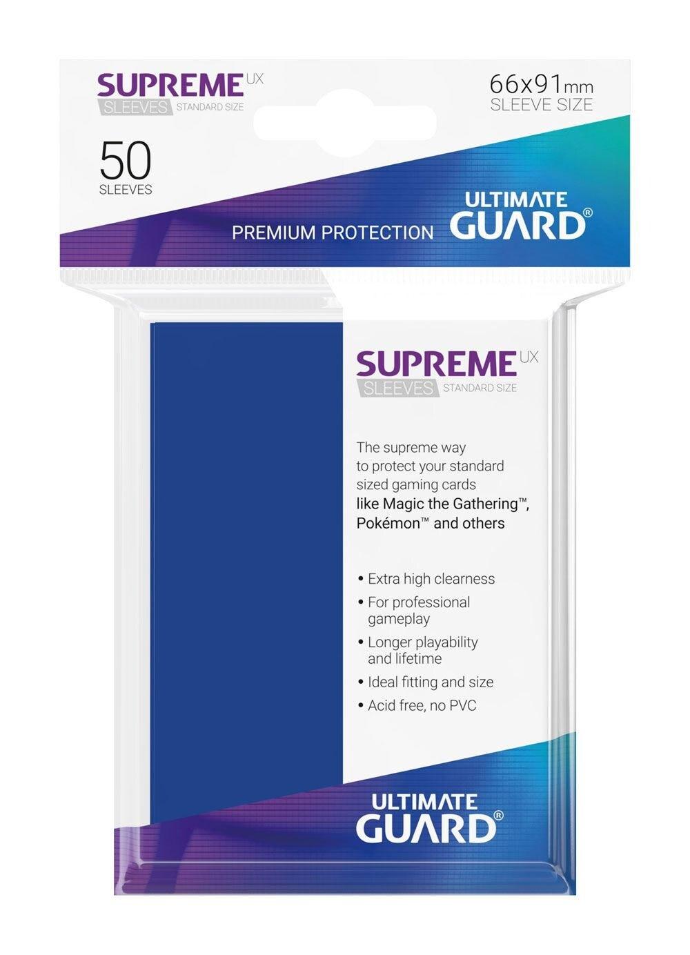 Ultimate Guard Koszulki Supreme UX Standard Niebieskie (50) - 1