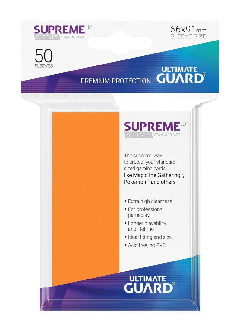 Ultimate Guard Koszulki Supreme UX Standard Pomarańczowe (50) - 1