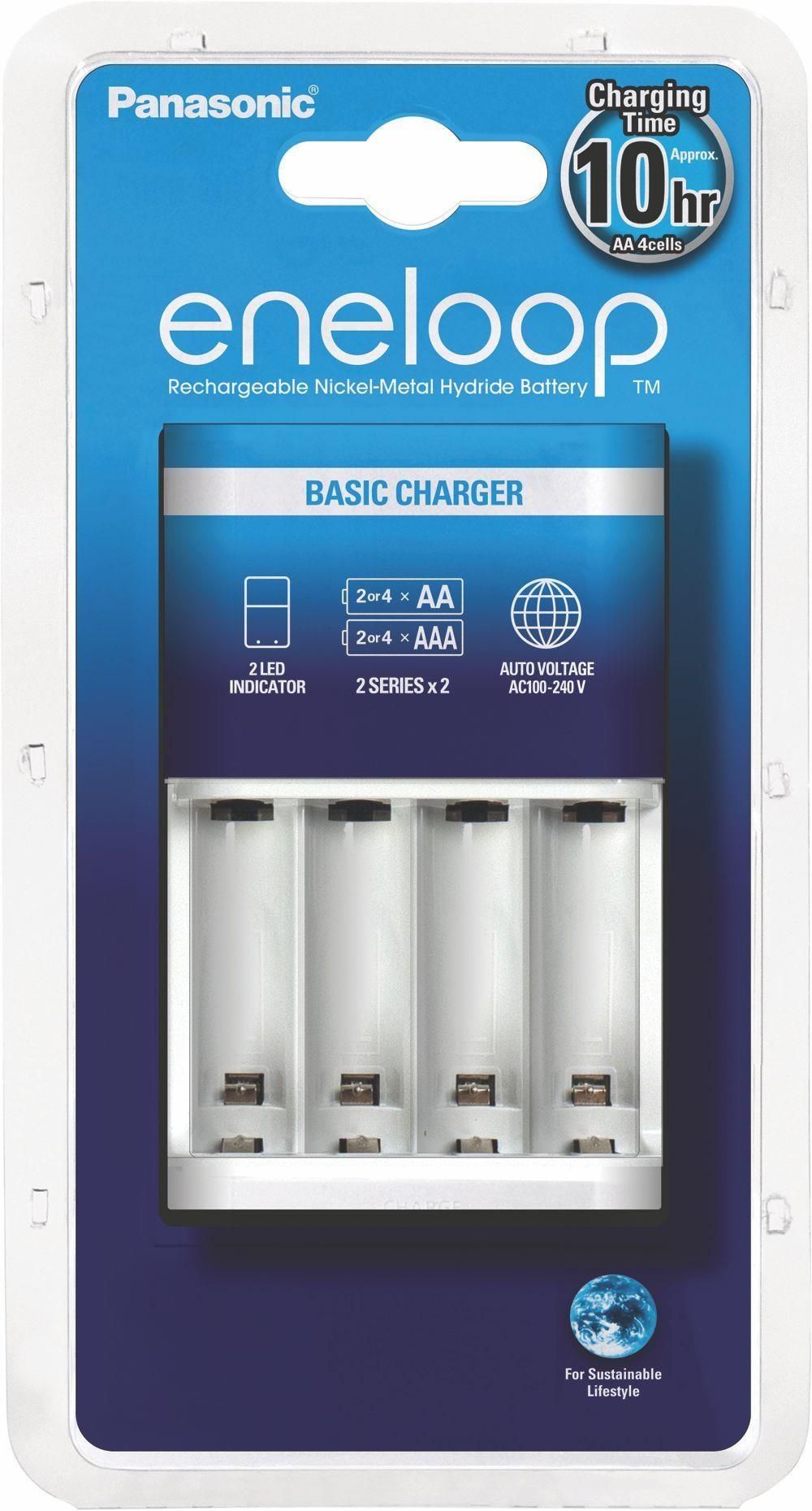 Ładowarka Eneloop Panasonic Basic Charger Bqcc51 Bez Akumulatorów - 1