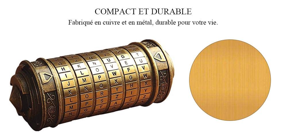 Romantic Gift Da Vinci Code Lock - 6