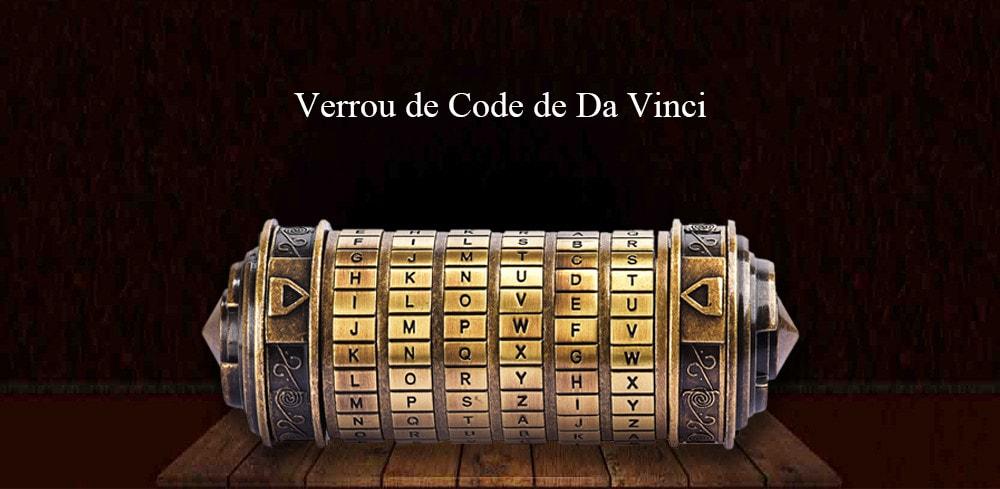 Romantic Gift Da Vinci Code Lock - 5