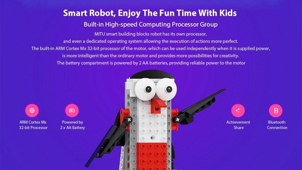 MITU Kids Intelligent DIY Assemble Puzzle Programming Electric Blocks Toy - 6