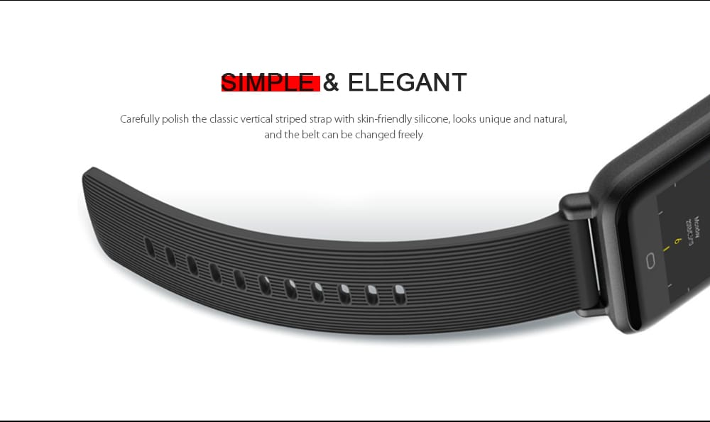Q9 Waterproof Smart Watch for Android / iOS with Heart Rate Monitor & Blood Pressure Functions - 3