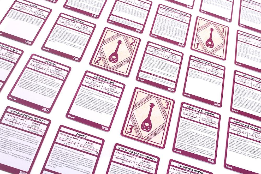 Dungeons & Dragons: Karty czarów - Bard - 3