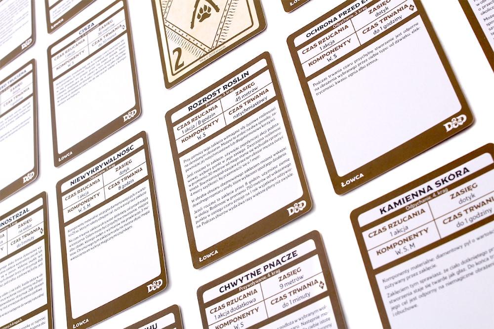 Dungeons & Dragons: Karty czarów - Łowca - 4