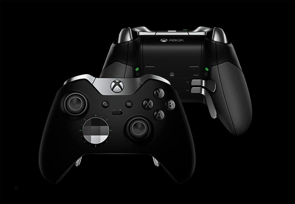 Microsoft Xbox One/One S Elite Wireless Controller Gamepad Version 1 Black - 3