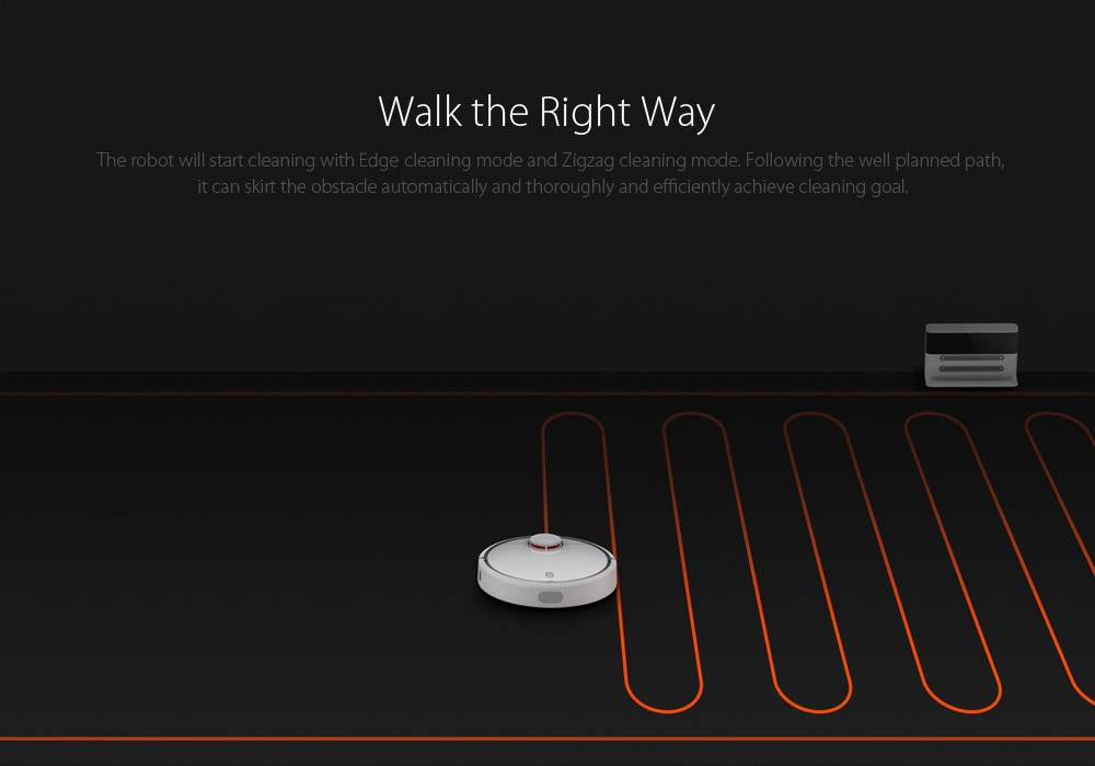 Xiaomi MIJIA 1C Robot Vacuum Cleaner for Home with Cleaning Tools - 9