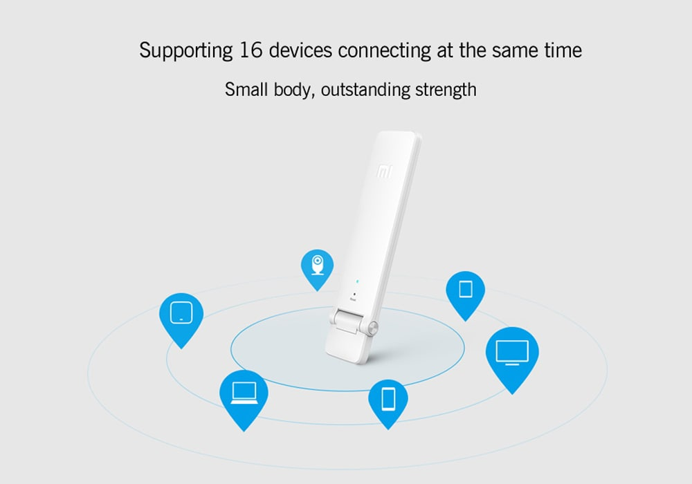 Xiaomi WiFi 300M Amplifier 2 - Built-In Dual Antennas, 300Mbps, Supports 16 Devices At Onc - 12