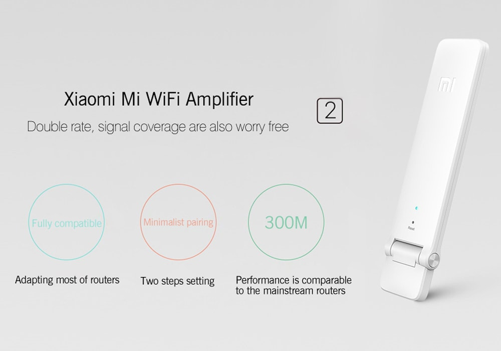 Xiaomi WiFi 300M Amplifier 2 - Built-In Dual Antennas, 300Mbps, Supports 16 Devices At Onc - 10