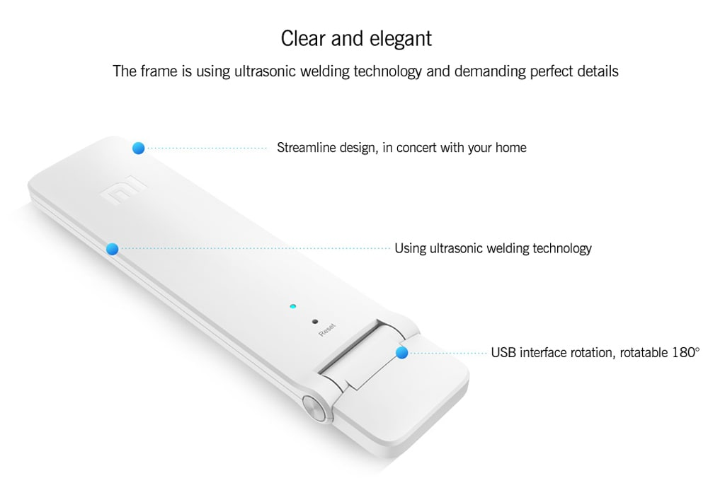 Xiaomi WiFi 300M Amplifier 2 - Built-In Dual Antennas, 300Mbps, Supports 16 Devices At Onc - 7