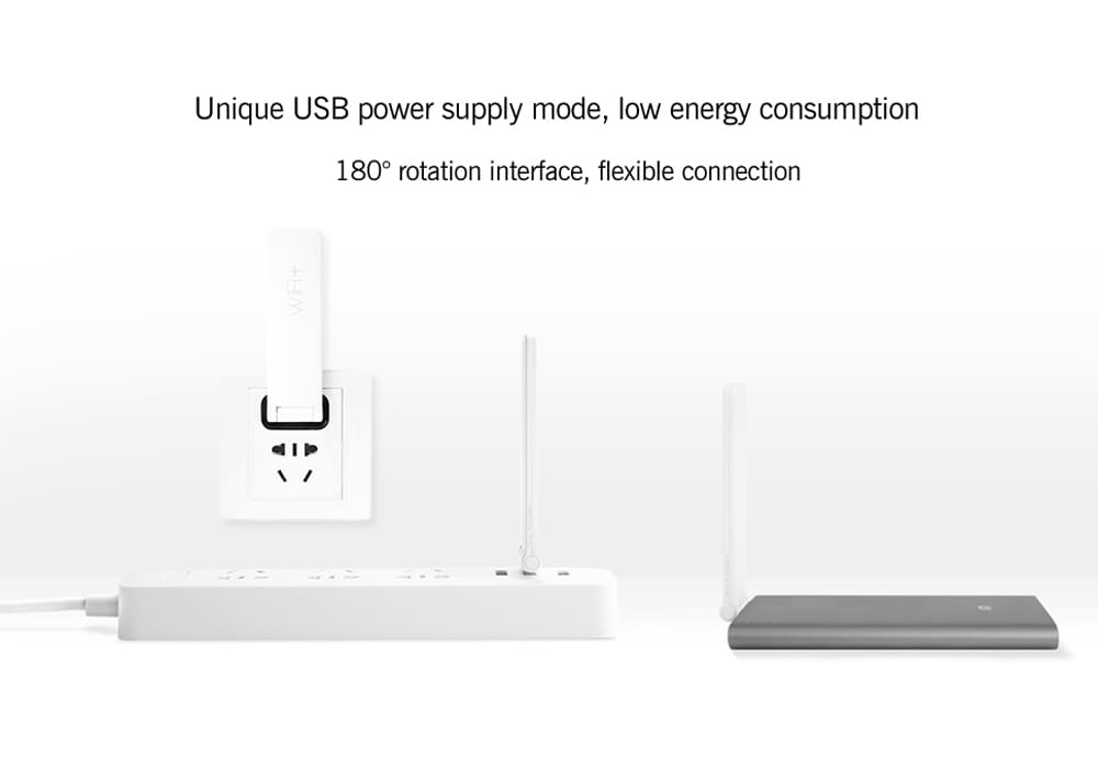 Xiaomi WiFi 300M Amplifier 2 - Built-In Dual Antennas, 300Mbps, Supports 16 Devices At Onc - 8