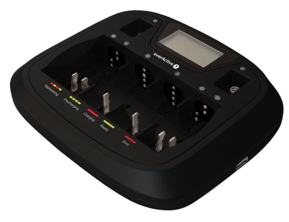 Ładowarka Akumulatorków Ni-Mh Everactive Nc900U - 1