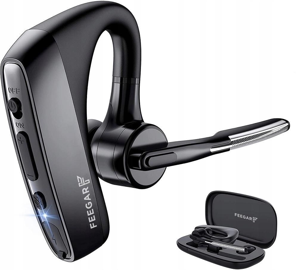 Słuchawka Feegar Bond Pro Bluetooth 5.1 16H Cvc8.0 - 1