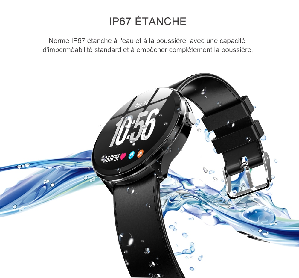 Mbtaua-Watch KOSPET V12 Waterproof Smart Watch - 4