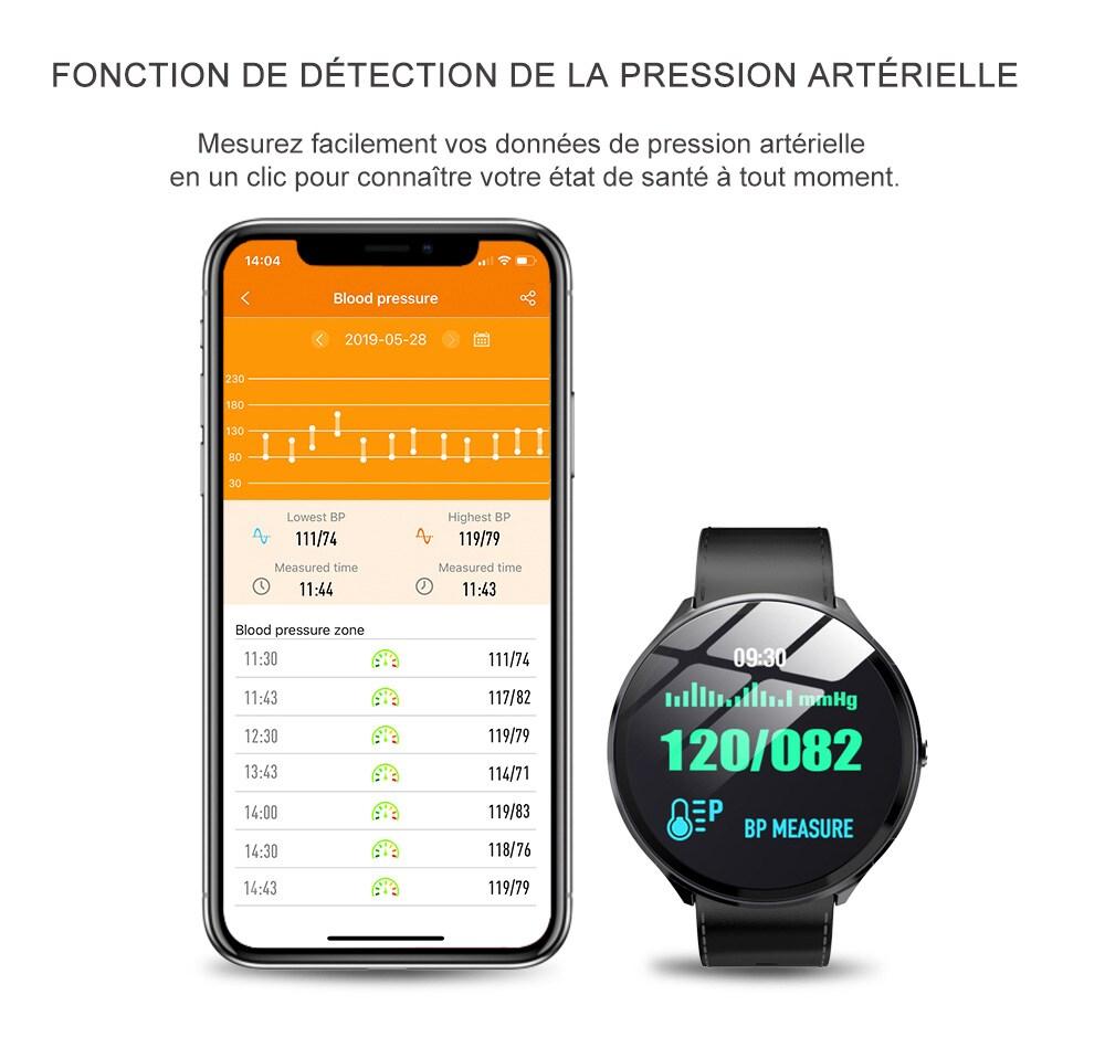 Mbtaua-Watch KOSPET V12 Waterproof Smart Watch - 7
