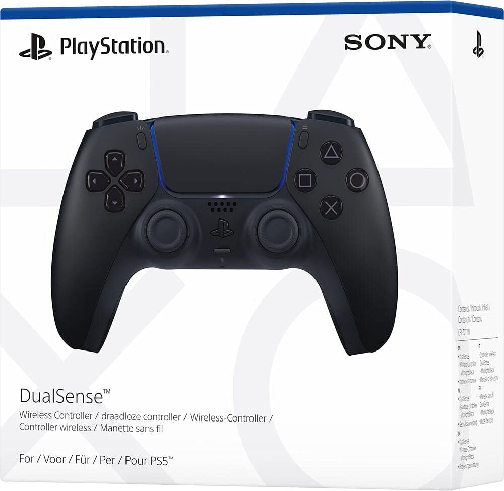 DualSense Midnight Black Wireless Controller Black - 1