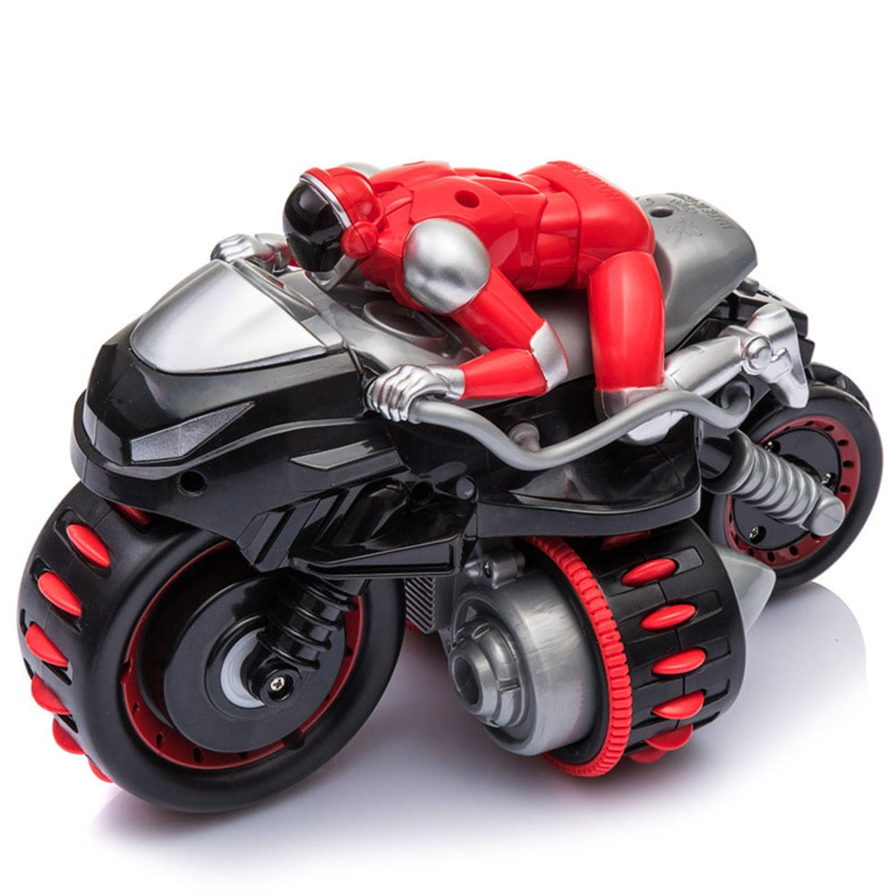 1pcs Remote Control 360° Rolling Motorcycle Toys with Music Sound for Boys Birthday Christmas Gift - 2