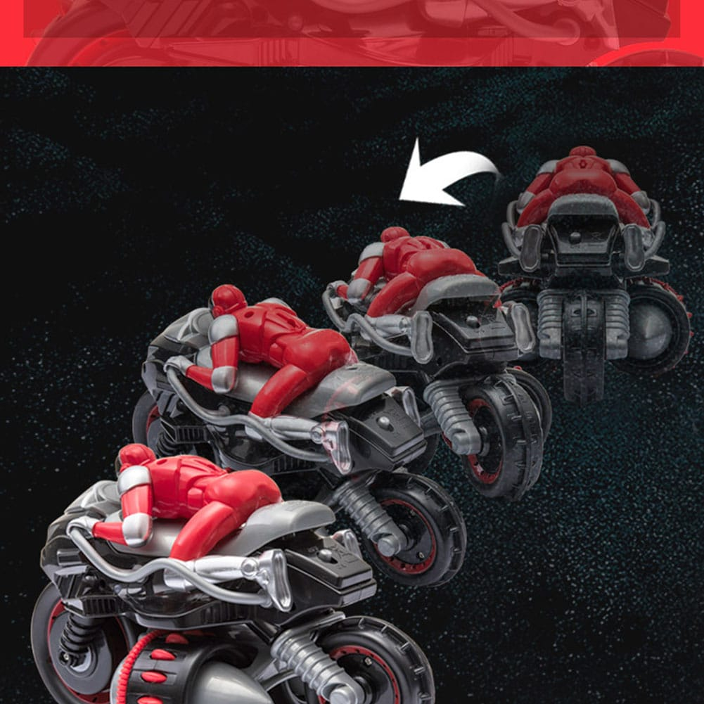 1pcs Remote Control 360° Rolling Motorcycle Toys with Music Sound for Boys Birthday Christmas Gift - 7
