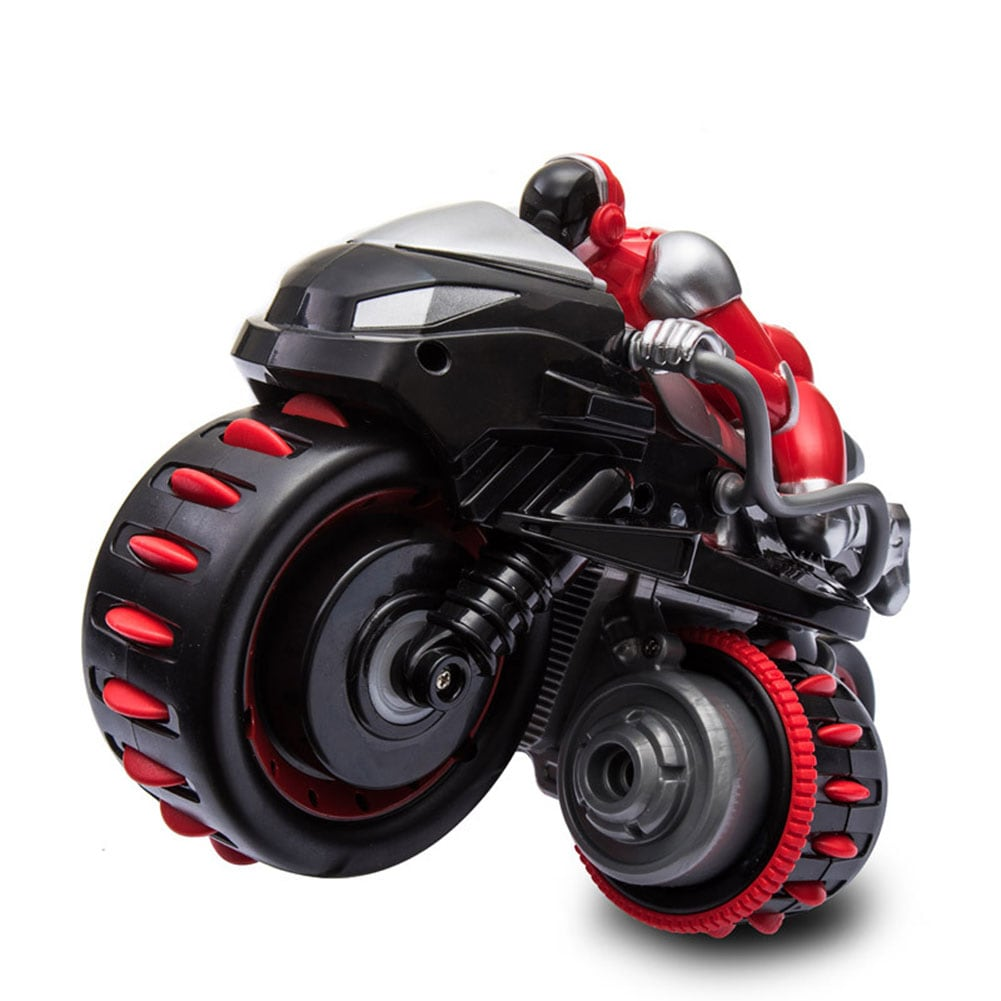 1pcs Remote Control 360° Rolling Motorcycle Toys with Music Sound for Boys Birthday Christmas Gift - 4