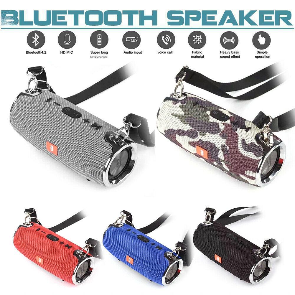 20W Wireless Bluetooth Speaker Waterproof Outdoor Super Bass Stereo Subwoofer - Camouflage - 2