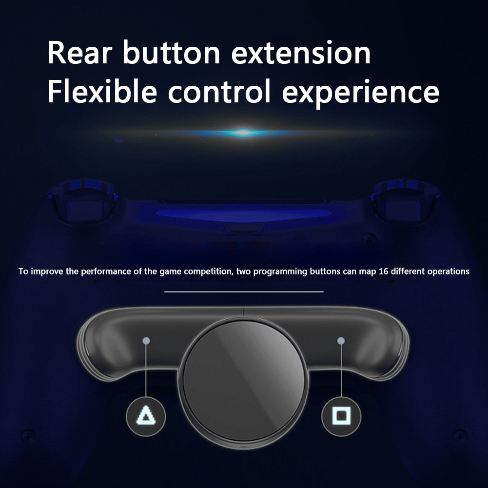 Back Button Attachment Extension Keys For SONY PS4 Gamepad Dual Shock 4 - 7