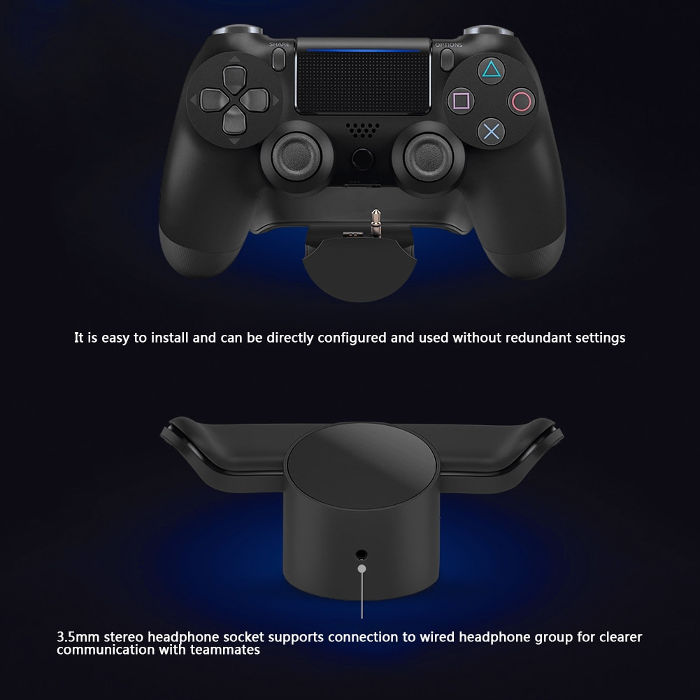 Back Button Attachment Extension Keys For SONY PS4 Gamepad Dual Shock 4 - 9