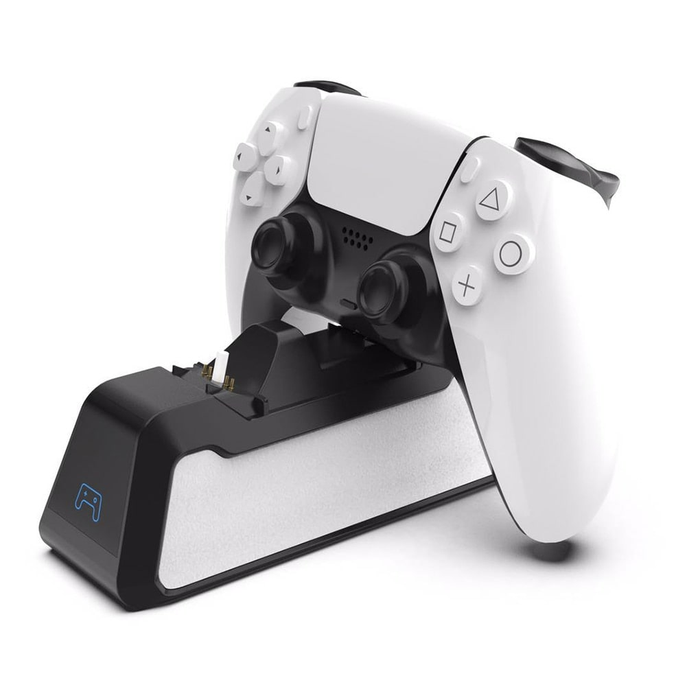 Dual Fast Charging Station for PlayStation 5 controllers USB 3.1 / Type-C White - 6