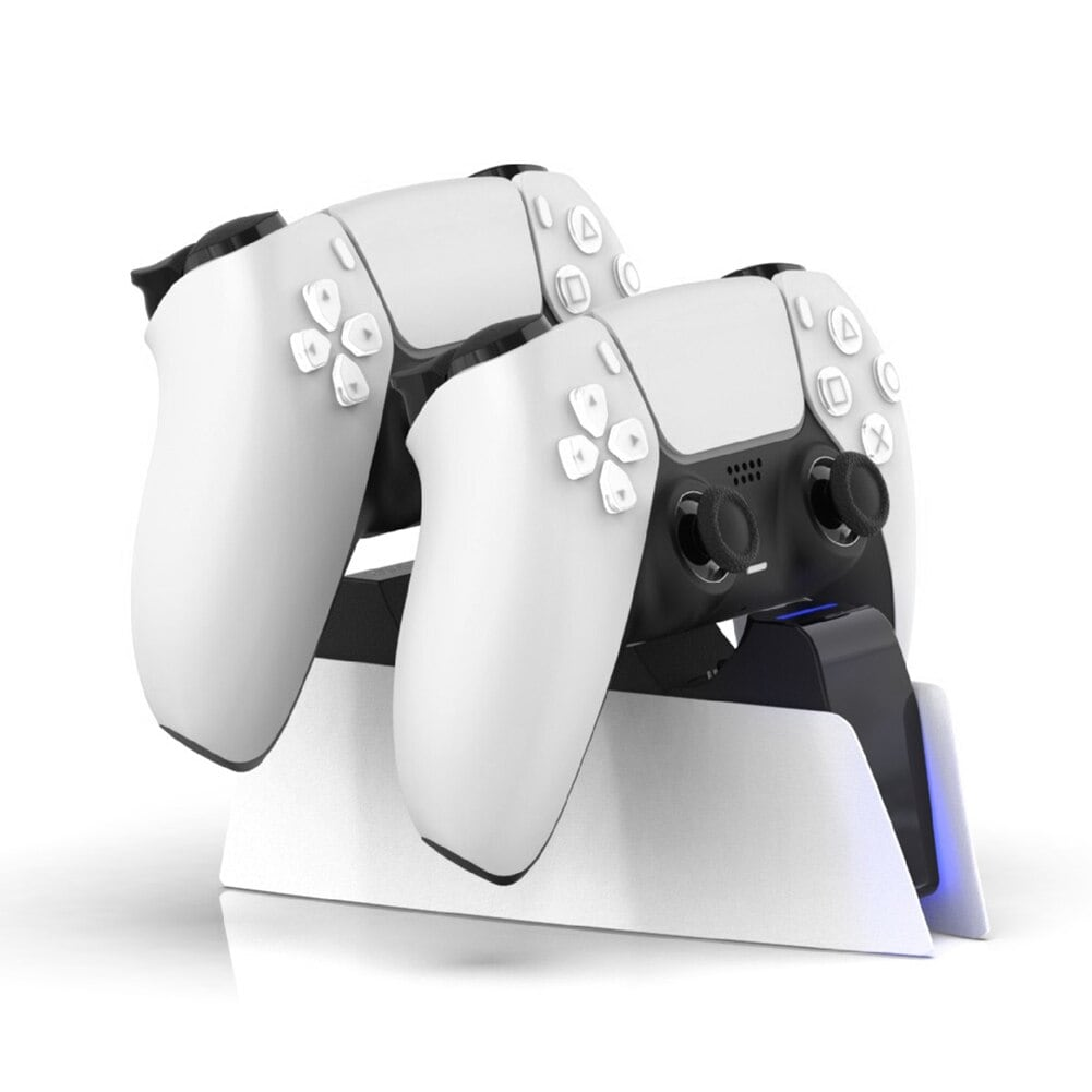 DualSense Charging Station for PlayStation 5 Controllers Type C White - 3