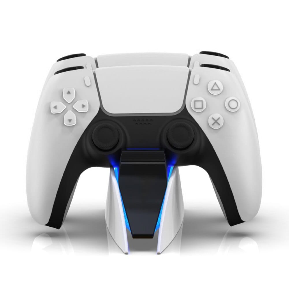 DualSense Charging Station for PlayStation 5 Controllers Type C White - 5