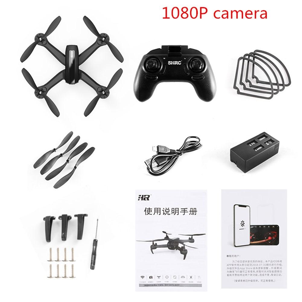 HR SH7 1080P WIFI FPV Camera RC Drone Remote Control Quadrocopter Drone with Camera - 7