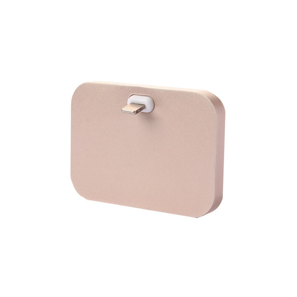 Lightning Charger Charging Dock Station Gold For Apple iPhone Aluminum Alloy - 8