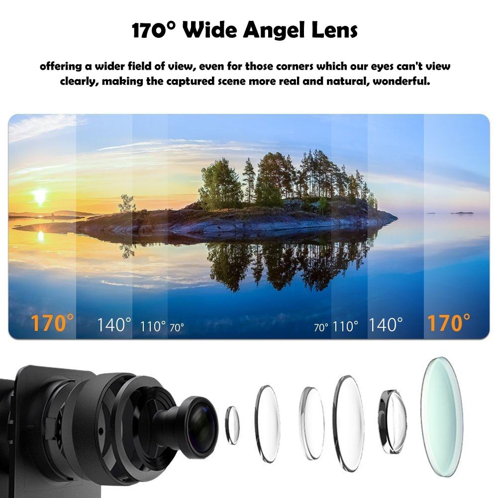 SJCAM SJ5000 Action Camera 14MP 1080p Ultra HD Waterproof Underwater Camera Camcorder Gold - 4
