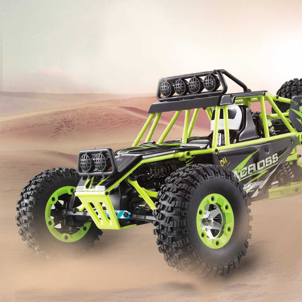 WLtoys 12428 1:12 4WD Crawler RC Car Electric Four-wheel Drive Climbing RC Car with LED Light RTR - 4
