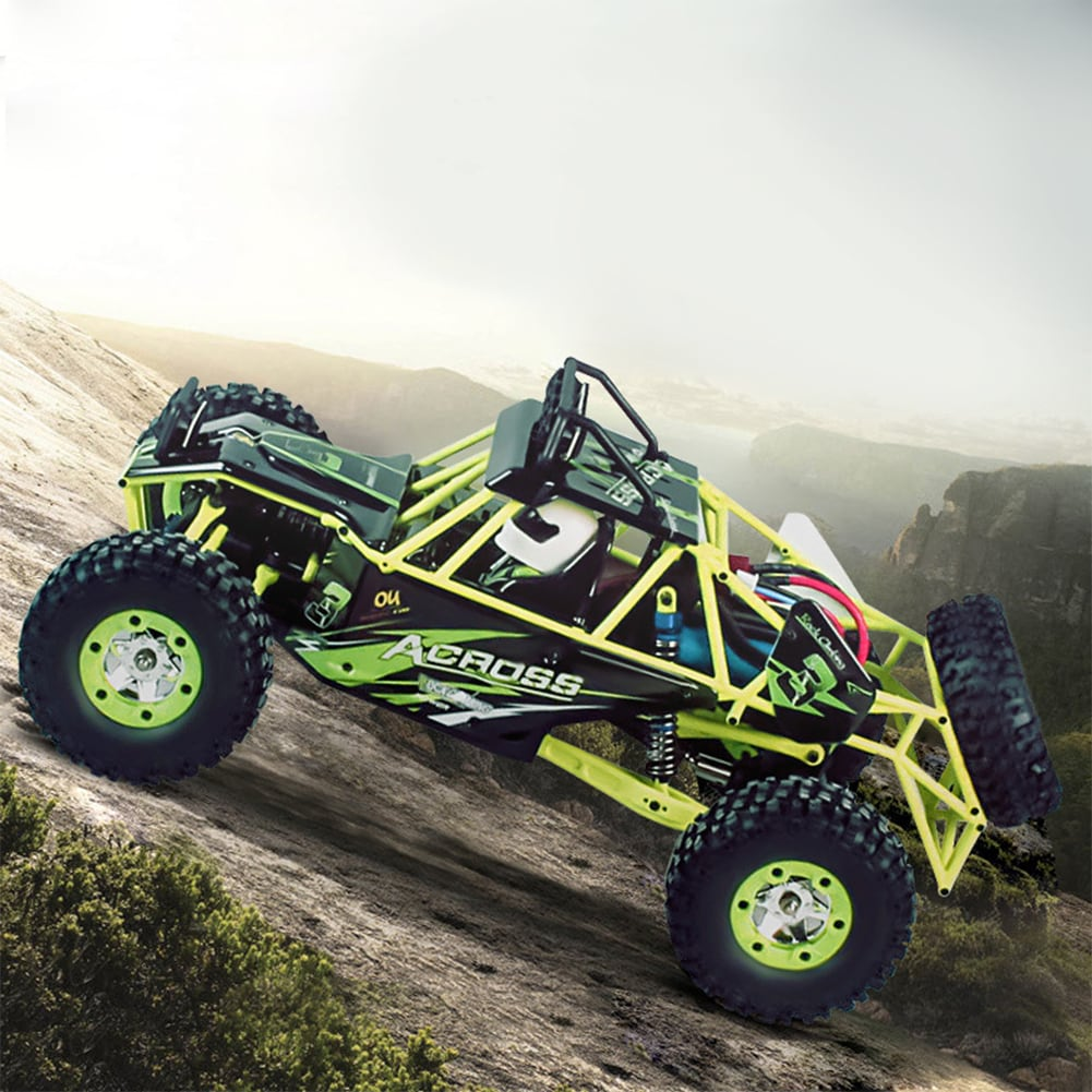 WLtoys 12428 1:12 4WD Crawler RC Car Electric Four-wheel Drive Climbing RC Car with LED Light RTR - 5
