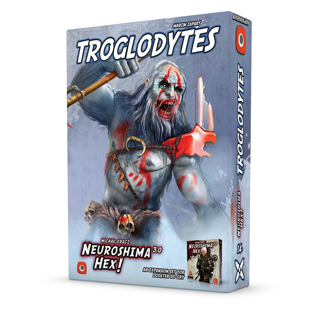 Neuroshima Hex 3.0: Troglodyci - 1