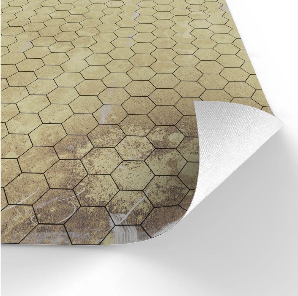 Dry-erase RPG mat 50x50 - Papyrus 1 (hexagonal) - 3