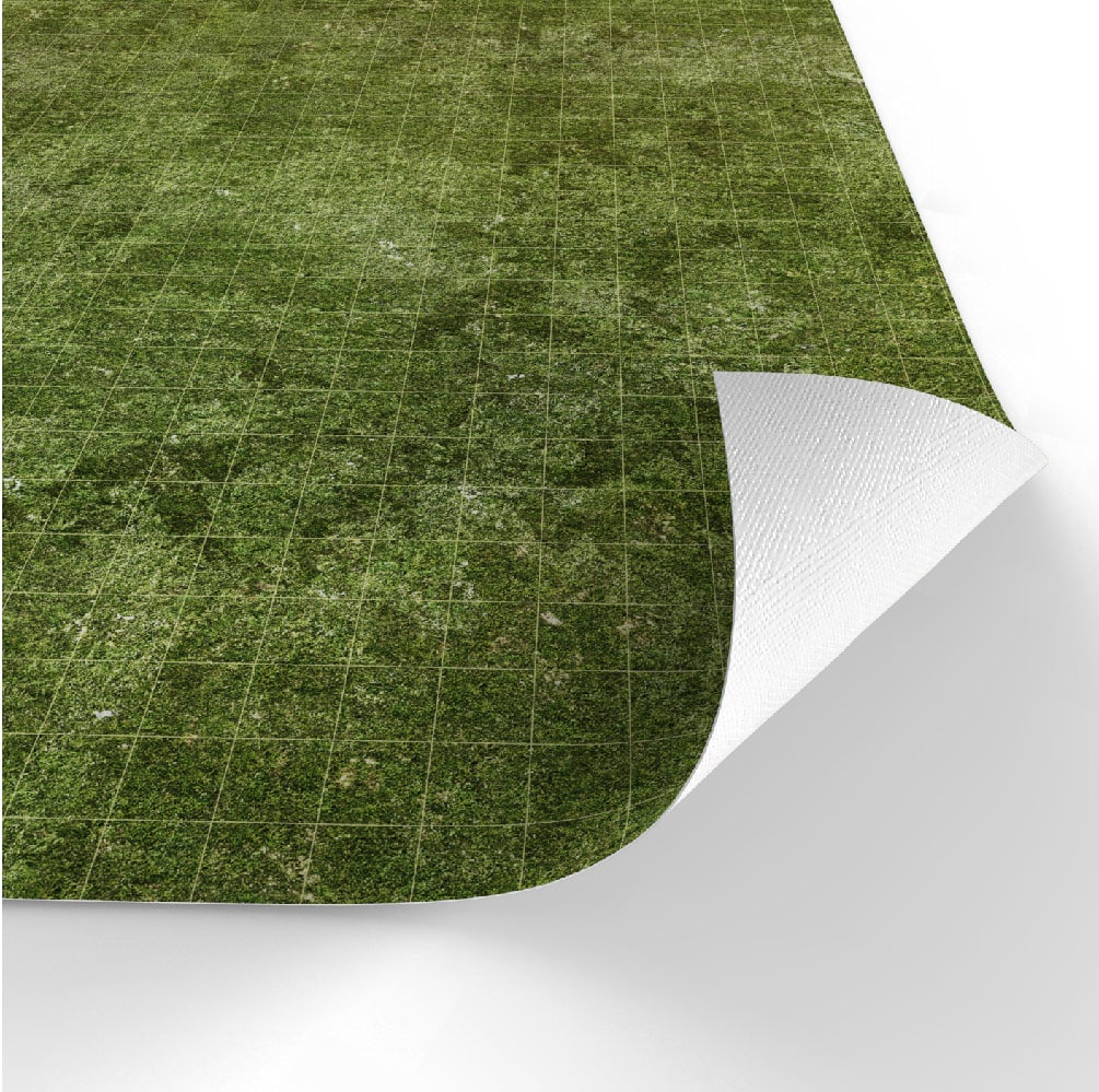 Dry-erase RPG mat 80x80 - Grass (square) - 3