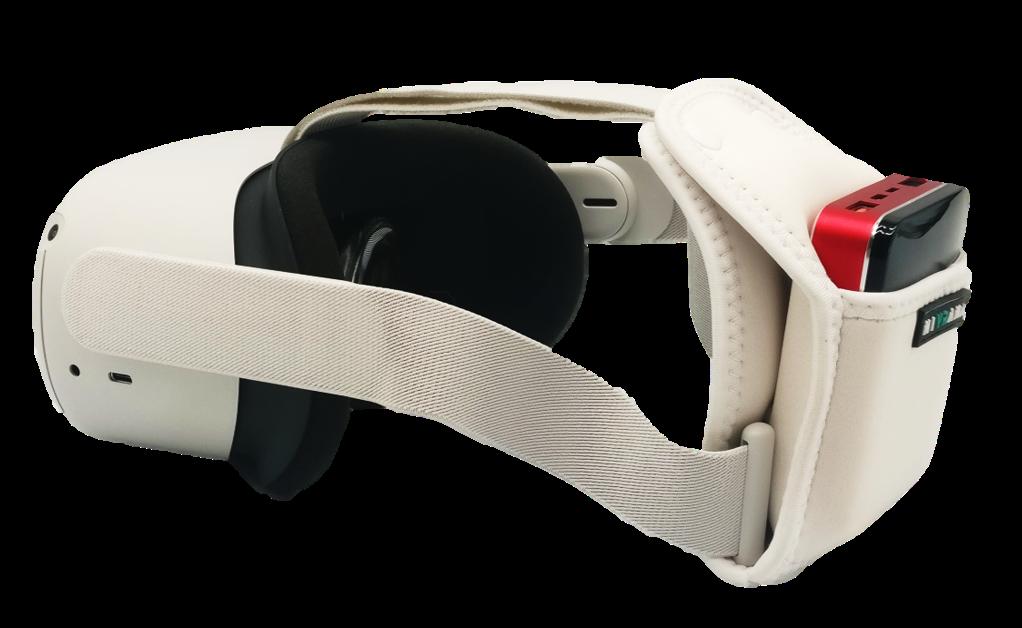 Powerbank dla Oculus Quest 2 z uchwytem i kablem - 1