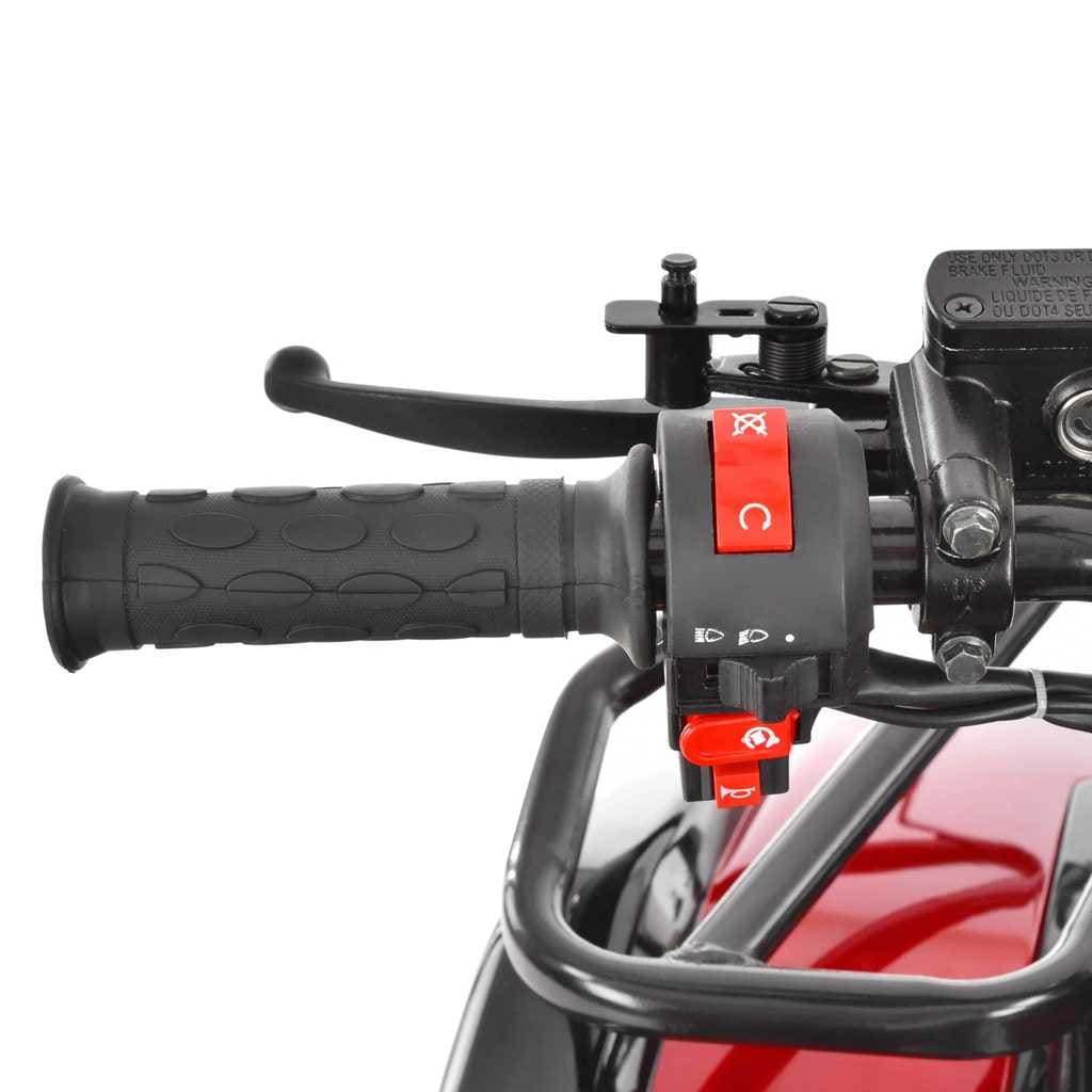 Hecht 56125 Red Quad Akumulatorowy Samochód Terenowy Auto Jeździk Pojazd - 4