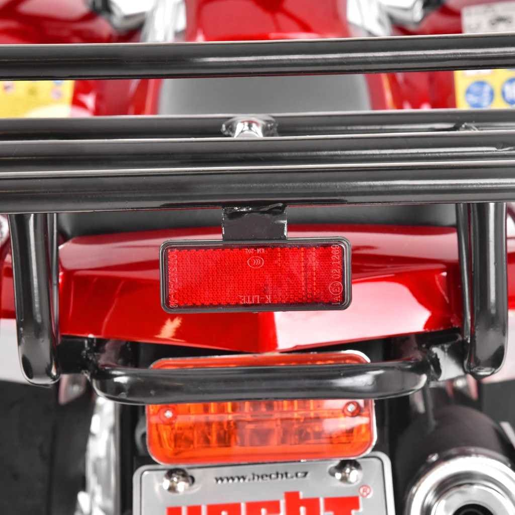 Hecht 56125 Red Quad Akumulatorowy Samochód Terenowy Auto Jeździk Pojazd - 9